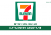 7-Eleven Malaysia ~ Data Entry Assistant