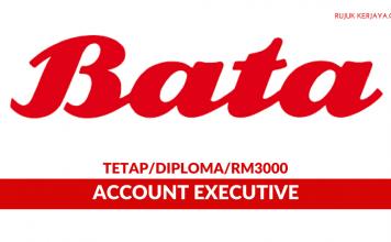Bata Malaysia ~ Account Executive