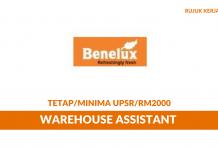 Warehouse Assistant Benelux Flower