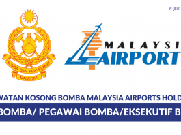 Permohonan Jawatan Bomba Malaysia Airports Holding Seluruh Negara