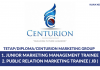 Centurion Marketing Group ~ Trainee