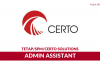 Certo Solutions ~ Admin Assistant