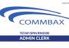 Commbax ~ Admin Clerk
