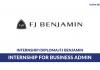 FJ Benjamin ~ Internship for Business Admin