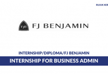 FJ Benjamin ~ Internship for Business Admin
