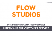 Flow Studios ~ Internship For Customer Service