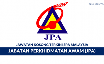 Permohonan Jawatan Kosong Jabatan Perkhidmatan Awam (JPA)