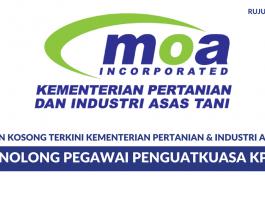 Kementerian Pertanian & Industri Asas Tani - Penolong Pegawai Penguatkuasa KP29