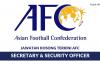 Konfederasi Bola Sepak Asia (AFC) ~ Security Officer