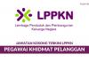 Lembaga Penduduk dan Pembangunan Keluarga Negara ~ Pegawai Khidmat Pelanggan