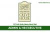 MA Olive House ~ Admin & HR Executive
