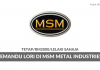 Pemandu Lori MSM Metal Industries