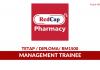 Management Trainee RedCap Pharmacy