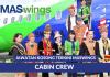 Permohonan Jawatan Cabin Crew MasWings Dibuka Sepanjang Tahun