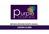 Purple CS ~ Admin Clerk