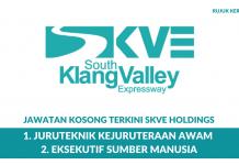 SKVE Holdings ~ Eksekutif Sumber Manusia