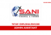 Sani Travel & Tours ~ Admin Assistant