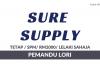 Sure Supply ~ Pemandu Lori