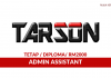 Tarson Marketing ~ Admin Assistant