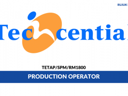 Techcential ~ Production Operator