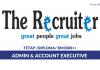 The Recruiter ~ Admin & Accounts Executive