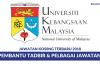 Universiti Kebangsaan Malaysia (UKM) ~ Pembantu Tadbir & Pelbagai Jawatan