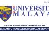 Permohonan Pembantu Penyelidik Universiti Malaya (UM) ~ Pelbagai Bidang Penyelidikan Diperlukan