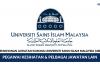 Universiti Sains Islam Malaysia (USIM) ~ Pentadbiran & Pengurusan