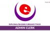Urbane Ethos ~ Admin Clerk