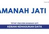 Amanah Jati ~ Kerani Kemasukan Data