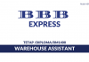 BBB Express ~ Warehouse Assistant
