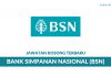 Bank Simpanan Nasional (BSN) ~ Pelbagai Jawatan Terbaru