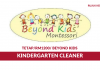 Beyond Kids ~ Kindergarten Cleaner