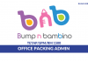 Bump N Bambino ~ Office Packing Admin