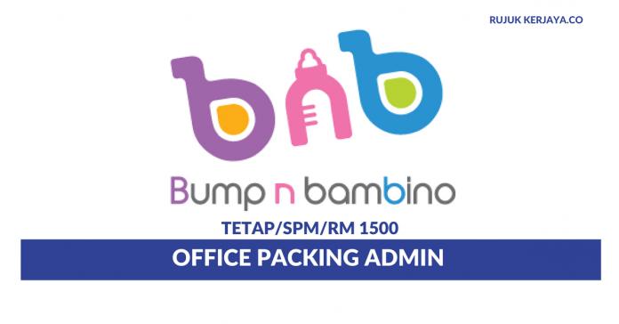 Bump N Bambino ~ Office Packing Admin