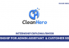 CH Cleaning ~ Internship for Admin Assistant & Customer Service