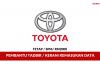 Toyota ~ Pembantu Tadbir & Kerani Kemasukan Data