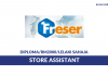 Freser ~ Store Assistant