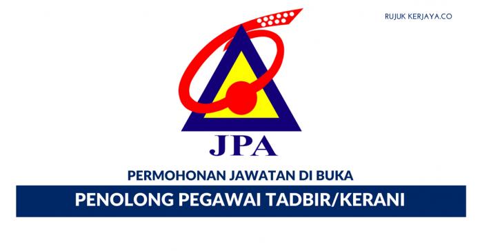 Permohonan Jawatan Kosong Penolong Pegawai Tadbir N29 JPA Di Buka