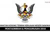 Permohonan Jawatan Kosong Kerajaan Negeri Sarawak 2018 Dibuka