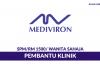 Klinik Mediviron ~ Pembantu Klinik