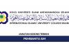 Kolej Universiti Islam Antarabangsa Selangor (KUIS) ~ Pembantu Am