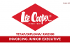 Lee Cooper ~ Invoicing Junior Executive