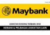 Permohonan Jawatan Malayan Banking Berhad Dibuka