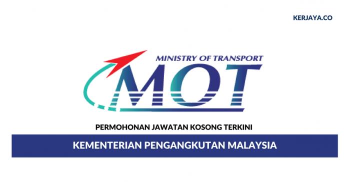 Permohonan Jawatan Kosong Kementerian Pengangkutan Malaysia