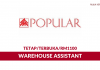 Popular Book ~ Warehouse Assistant