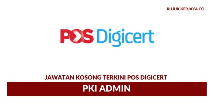 Pos Digicert ~ PKI Admin