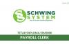 Schwing System ~ Payroll Clerk