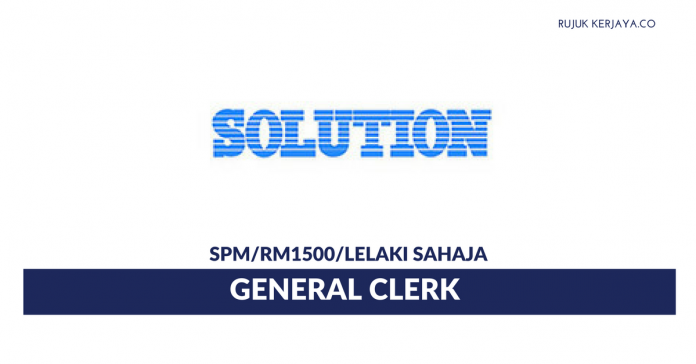 Solution Engineering ~ General Clerk