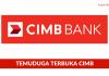 Temuduga Terbuka Skim Latihan 1Malaysia CIMB